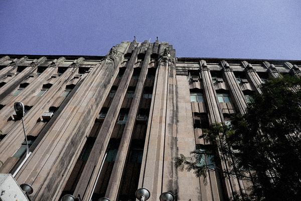 Example of Art Deco architecture in Mumbai